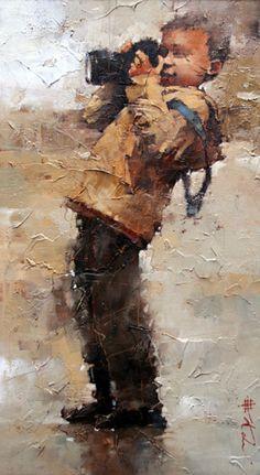 painting by andre kohn Pintura Graffiti, Art Texture, Kunst Online, Contemporary Abstract Art, African American Art, Beautiful Paintings, Figure Painting, Art Oil, Figurative Art