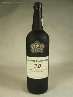 20 year tawny port by Taylor Fladgate