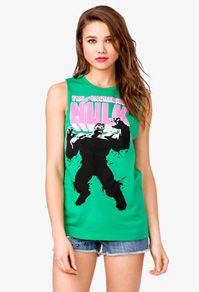 Forever 21-- Incredible Hulk Muscle Tee $13.80