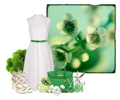 """Garden Party"" by misshonee ❤ liked on Polyvore"