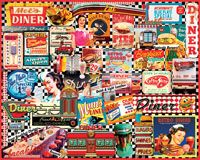 Diners Jigsaw Puzzle - 1000 Pieces --White Mountain Puzzles