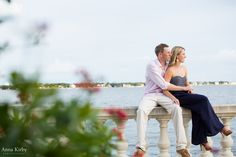 South Tampa Engagement Photos on Bayshore Blvd