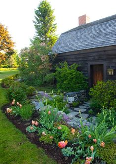 Old House, New Landscape - Old-House Online - Old-House Online