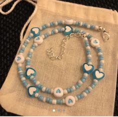 Nail Jewelry, Funky Jewelry, Bead Jewellery, Cute Jewelry, Dainty Jewelry, Beaded Jewelry, Jewelry Accessories, Handmade Jewelry, Beaded Bracelets