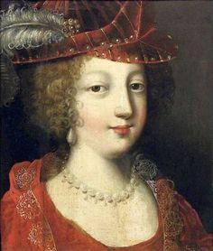 portrait of a lady (detail) by claude deruet, c 1630