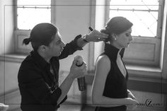 Strike a pose! Working... Stay tuned! #AlcinoCortezHairStylist #Editorial #Lisbon