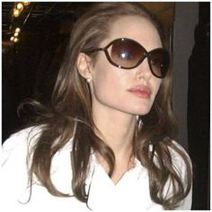60857c73953e9 Tom Ford sunglasses on Angelina Jolie!