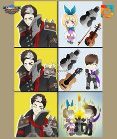 Bang Bang, Graph Paper Drawings, Moba Legends, Mobile Legend Wallpaper, Demon Hunter, Alucard, League Of Legends, Memes, My Best Friend