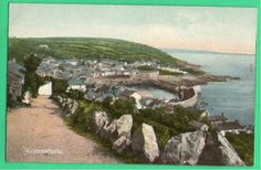 VIEW TO TOWN | Mousehole, Cornwall: Postcard     ✫ღ⊰n