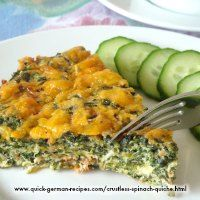 Here's a wonderful low carb crustless spinach quiche. Perfect for your breakfast… Quick Red Cabbage Recipe, German Red Cabbage Recipes, German Recipes, Easy Vegetable Recipes, Vegetable Dishes, Vegetarian Recipes, Cooking Recipes, Healthy Recipes, Spinach Recipes