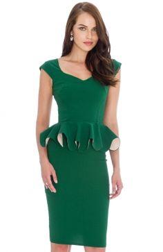 DR595_front No Frills, Peplum Dress, Pretty, Dresses, Fashion, Vestidos, Searching, Moda, Fashion Styles