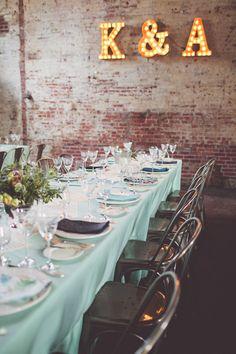 Speakeasy themed Brooklyn wedding