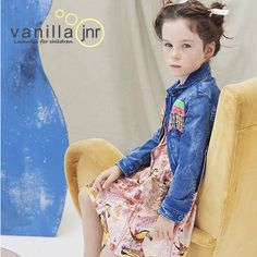 Gorgeous dress by Billie Blush for your little girls colourful and very pretty new collection for 2017 #vanillaJnr #vanilla¬¬_junior #billieblush