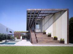 Yin-Yang Haus - Venice, CA von Brooks + Scarpa Architekten