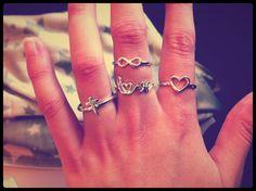 Statement ringen! #hearttoget #ring #infinity