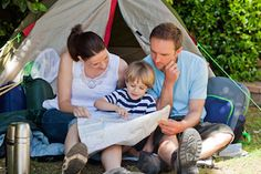 Camping with kids can be quite a challenge - here are some tips for help make a smooth family camping trip. Planning your camping trip, what to pack for camping, safety when camping and more