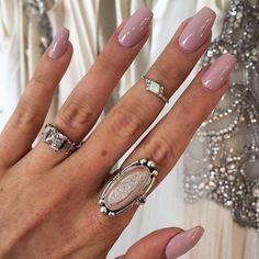 Bridal Coffin Nails