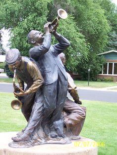 In Statue Park in Loveland, CO
