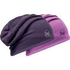 Buff Merino Wool Reversible Hat