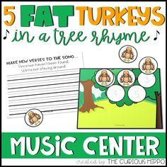 Five Fat Turkeys - Made By Teachers