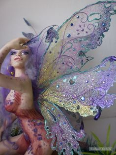 Incredible wings for dolls. Tutorial.