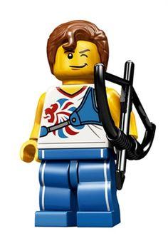 Olympics Lego - Tir à l'arc