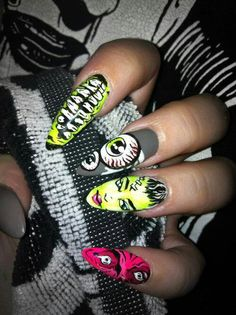 Iron fist zombie nails
