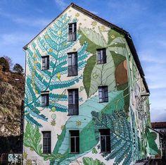 By Doa Oa #ospeares #Spain #art #mural #graffiti #streetart #nature