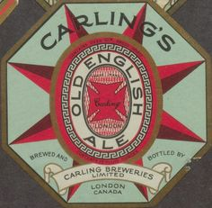 Carling's Old English Ale | Flickr - Photo Sharing!