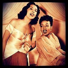 Lena Horne & Hazel Scott.