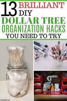 The best DIY bathroom organization ideas from the Dollar Store for under the sink, on your countertop, and in your drawers. Such a simple cheap way to organize your bathroom. #bathroomorganization #organization #organizebathroom #dollartree #dollarstorehacks #dollartreeDIY #dollartreeorganization