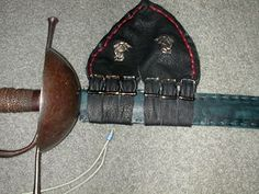 Scabbard, 44 new hanger on my black rapier.jpg