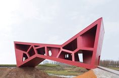 bridging teahouse by fernando romero. CHINA.