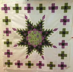 Anns Czesla's Bernina montly block quilt