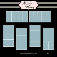 how to create a storyboard in photoshop   Photoshop Collage Templates Storyboard Blog Board PSD Files 20x10 ...