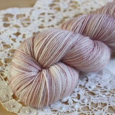 Shell / Hand Dyed Yarn / Limited Edition Pre-Order | Phydeaux Designs
