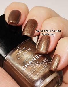 Chanel Morocco 37 Chanel Nail Polish, Chanel Nails, Chanel Makeup, Joy Nails, Long Nail Art, Nail Art Blog, Picture Polish, Nail Manicure, Manicures