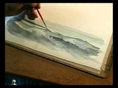Watercolour Sea and the Sky