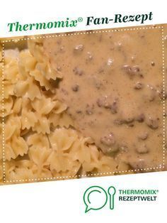 meat with onion cheese sauce - Minced meat with onion cheese sauce from meusterin. A Thermomix ® recipe from the main course with -Minced meat with onion cheese sauce - Minced meat with onion cheese sauce from meusterin. A Thermomix ® reci. Quick Hamburger, Hamburger Meat Recipes, Crockpot Recipes, Chicken Recipes, Sauce Recipes, Lunch Recipes, Dinner Recipes, Dessert Recipes, Minced Meat Recipe