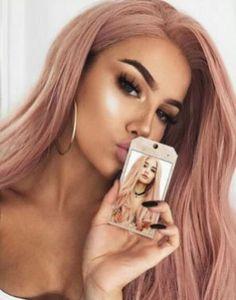 Rose Gold Hair Ideas 1311