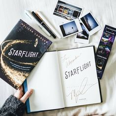 Starflight by Melissa Landers - photo by @twirlingpages on Instagram - The 14 Most Anticipated YA Books to Read in February
