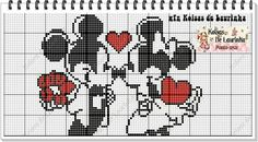 Cross Stitch Art, Cross Stitch Designs, Stich Disney, Crochet Letters, Disney Cross Stitch Patterns, Stitch Cartoon, Plastic Canvas Patterns, Disney Pictures, Le Point