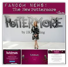 """""""The New Pottermore//Clara"""" by the-fandom-gals ❤ liked on Polyvore featuring art"""