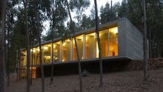 + Arquitetura :   Projeto da Gubbins Arquitectos, a casa esta localizada em Cachagua (Chile).