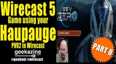 Wirecast 5 Tutorial Pt 8: Using Hauppauge PVR2 to Video Game on Wirecast