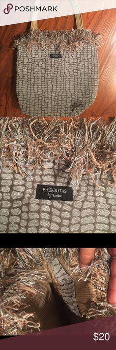 Selling this Bagolitas by Janice light green and brown on Poshmark! My username is: sabrihal. #shopmycloset #poshmark #fashion #shopping #style #forsale #Bagolitas #Handbags