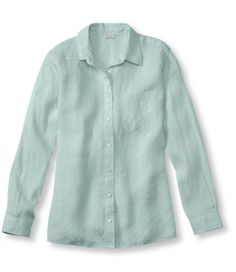 Premium Washable Linen, Big Shirt: Casual | Free Shipping at L.L.Bean