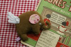 Baby Elephant with Wings £14.00- Folksy shop