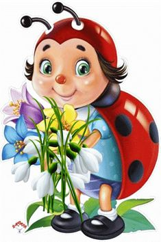 Solve Cute ladybug jigsaw puzzle online with 117 pieces Lady Bug, Bisous Gif, Funny Emoticons, Smileys, Emoji Symbols, Smiley Emoji, Photocollage, Beautiful Gif, Beautiful Pictures