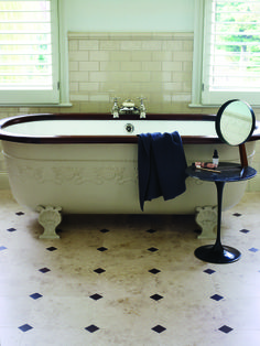 Our range of luxury vinyl tiles is innovative and unrivalled. Our team has over 50 years of experience, ensuring that our luxury vinyl tiles are of the highest quality. Bathroom Mirror Makeover, Bathroom Sink Decor, White Bathroom Cabinets, Bathroom Wall Panels, White Bathroom Tiles, Bathroom Storage Shelves, Bathroom Trends, Bathroom Floor Tiles, Bathroom Design Small